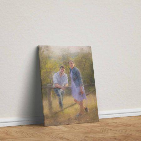Fotografije ljudi, familije i najbližih obrađene kao umetnička dela.